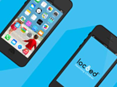 "Loc8ed<p class=""projectCategory"">Branding / App Mock ups</p>"